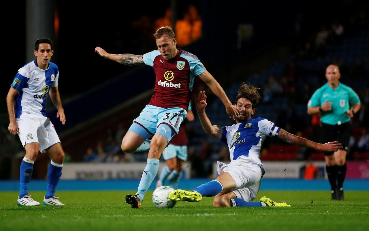 Carabao Cup - Second Round - Blackburn Rovers vs Burnley